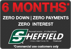 6 Months Zero Down, Zero Payments, Zero Interest